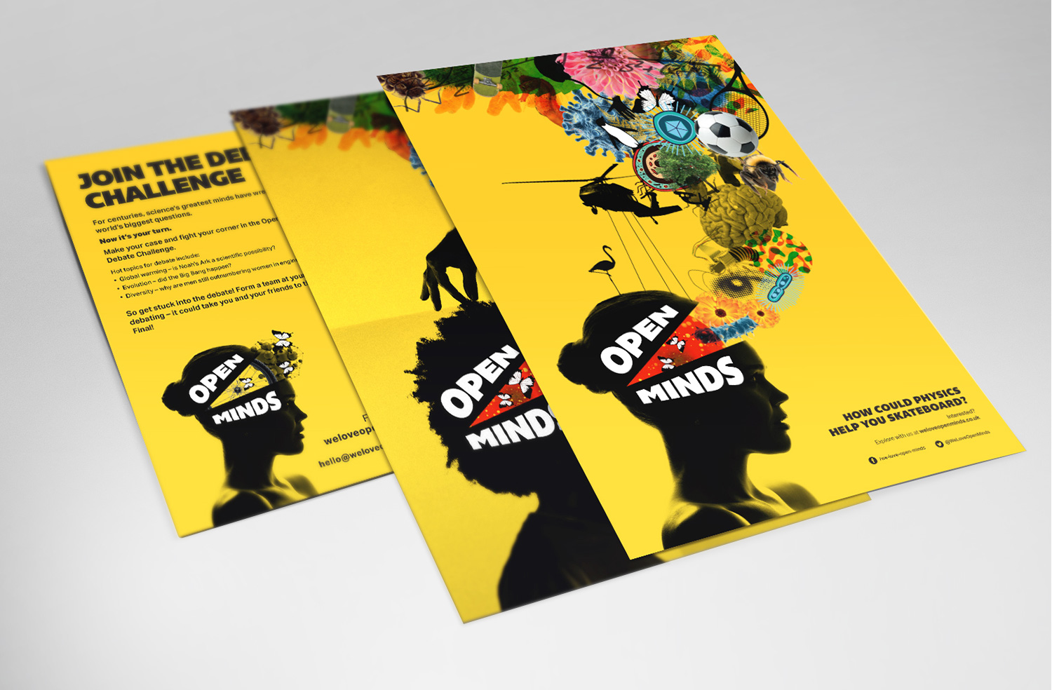 Open Minds posters