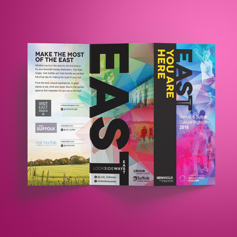 Look Sideways - Cultural Highlights leaflet front