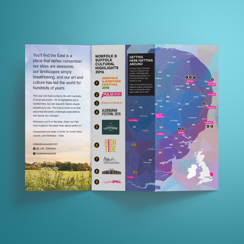 Look Sideways - Cultural Highlights leaflet map