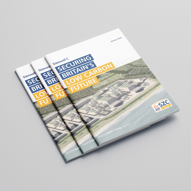EDF Sizewell C brochure cover