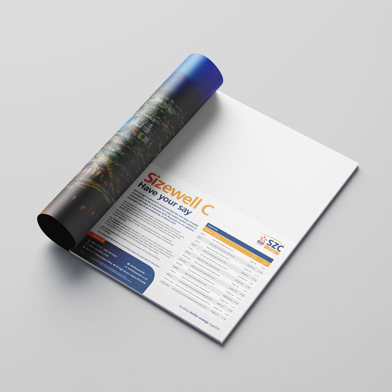 EDF Sizewell C consultation advert