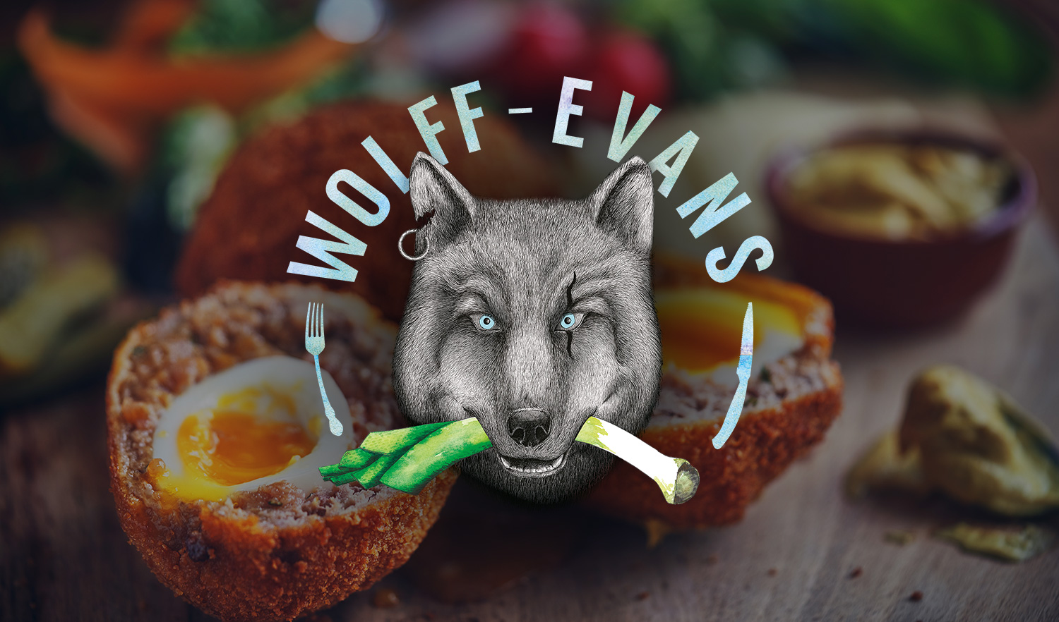 Wolff-Evans scotch eggs logo