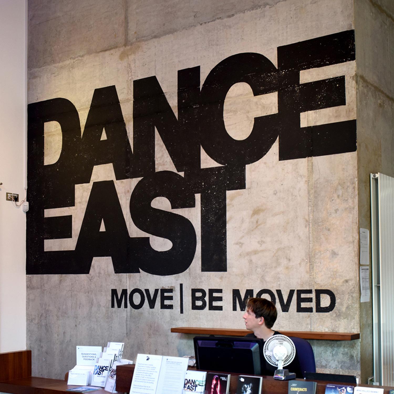 DanceEast Wayfinding reception 2