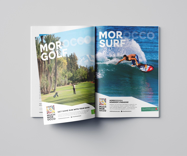 Morocco Surfing advert