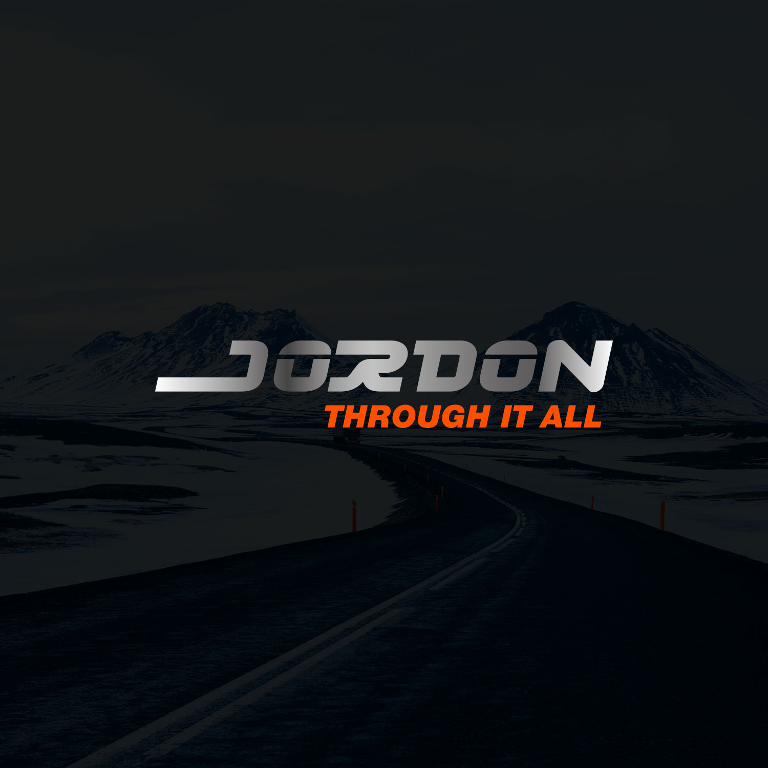 Jordon logo chrome