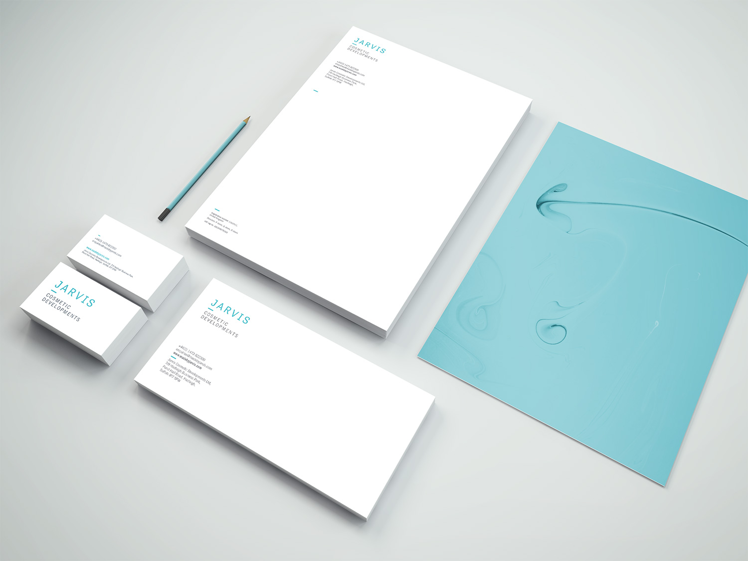 Jarvis business stationary
