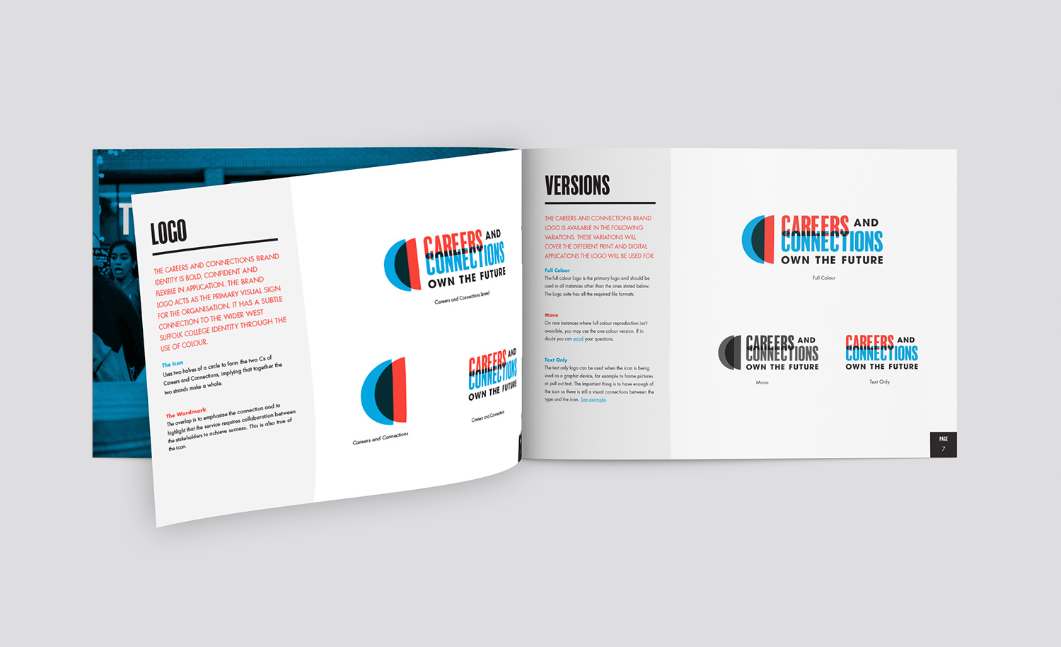 West Suffolk College Careers and Connections brochure