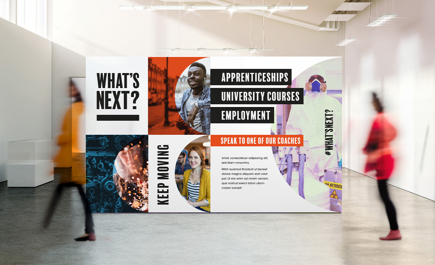 West Suffolk College Careers and Connections banner