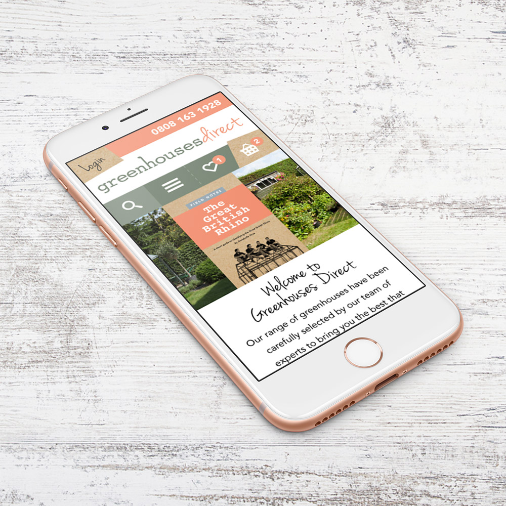 Greenhouses Direct mobile site