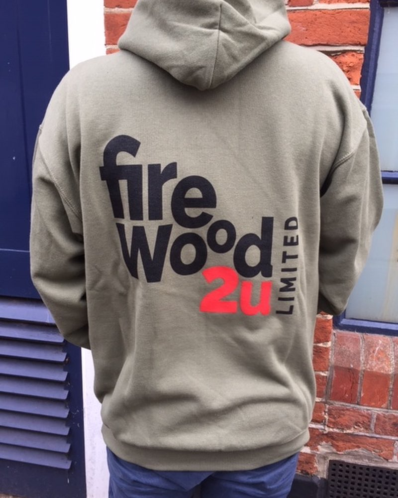 Brilliant to have our client Nick pop by to show off the logo we recently designed for his business – Firewood 2 u  #design #logo #makeexcellentwork