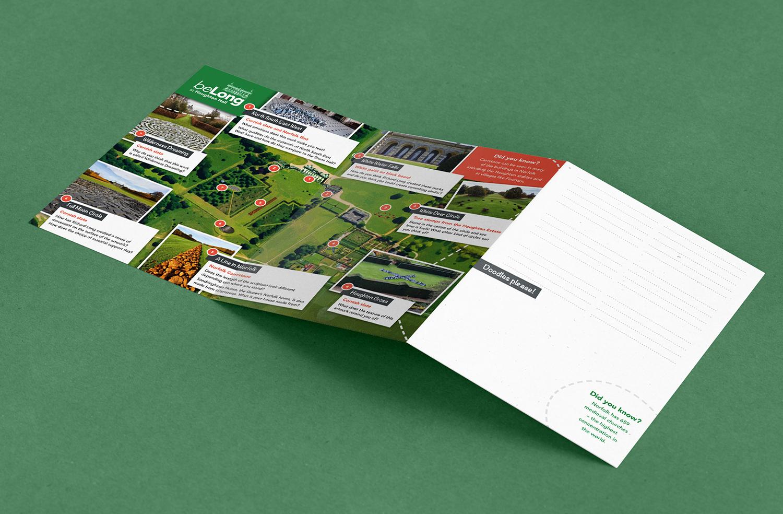 BeLong at Houghton fold out leaflet side 2