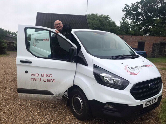 Today's #SpringLife and Simon is off to art direct #hopkinshomes photo shoot for a couple of days. That van is full of props (but Biggles won't be going)! #agencyforchange #makeexcellentwork